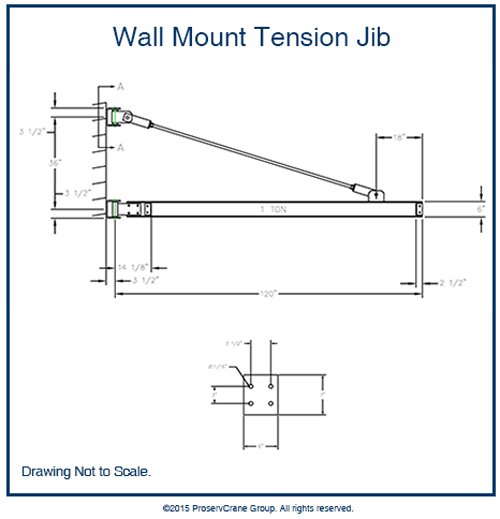 Wall Mount Tension