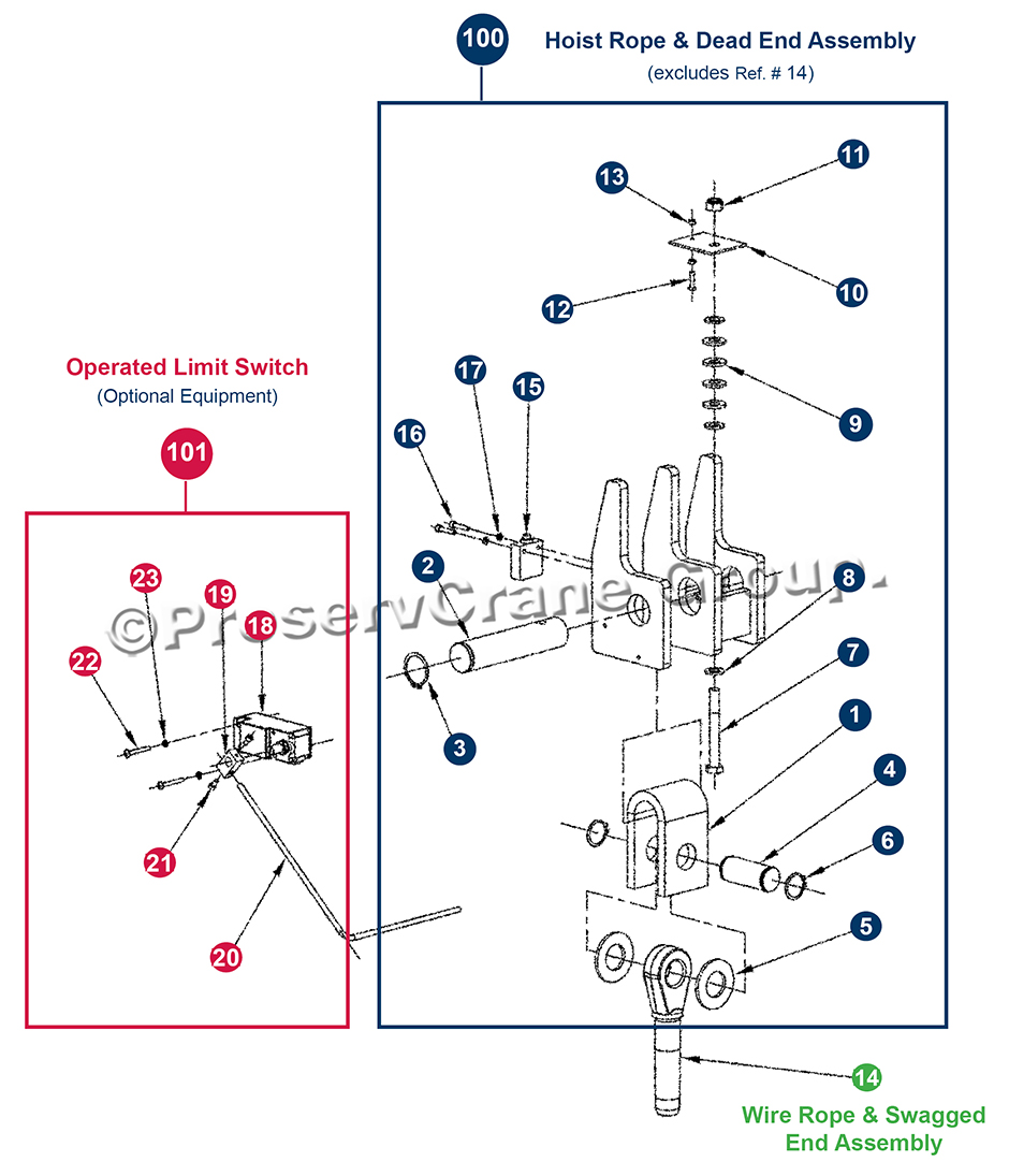 Hoist Limit Switch Wiring Diagram Gear Library Wire